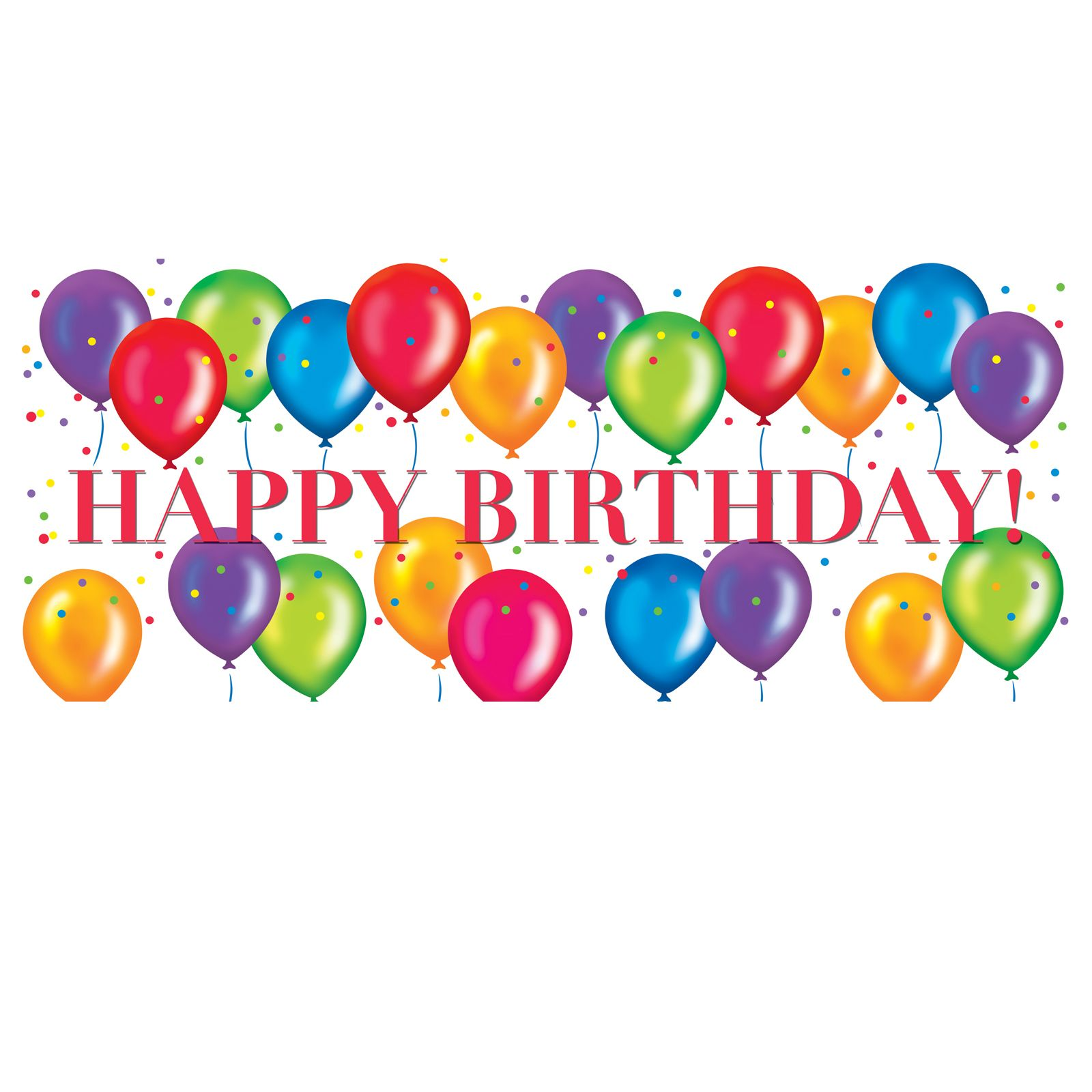 Happy graphics freebies . Free birthday clipart images
