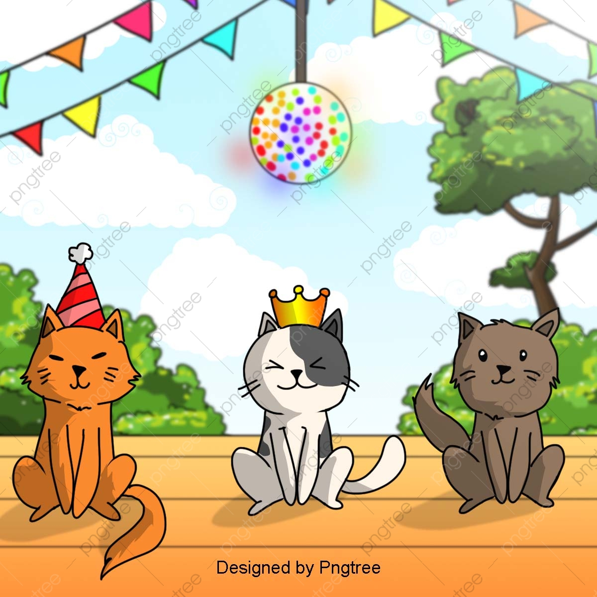 Free birthday clipart pets jpg.  celebration years of