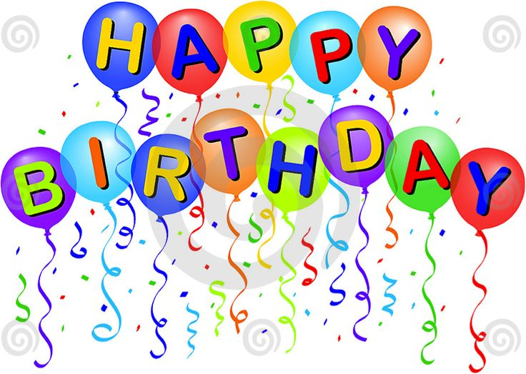 Free birthday clipart images.  clipartlook
