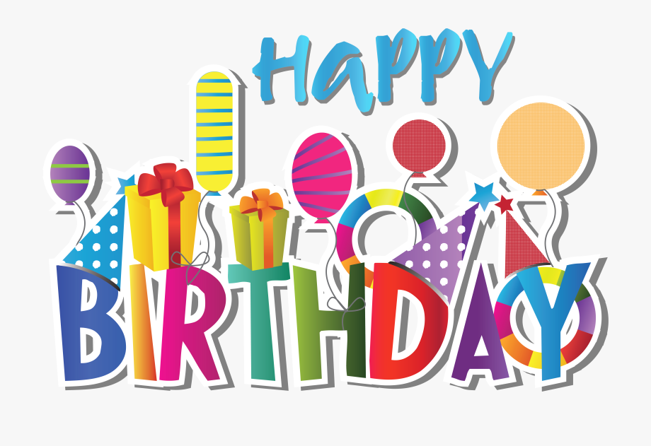 Happy cliparts clip art. Free birthday clipart to download