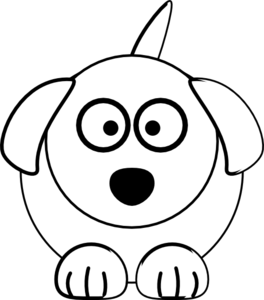 Free black and white animal clipart images svg freeuse stock Black And White Dog Clip Art at Clker.com - vector clip art online ... svg freeuse stock