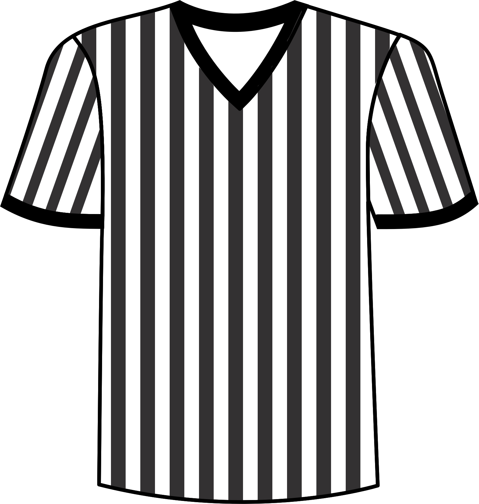 Free black and white baseball jersey clipart vector royalty free Collection of Jersey clipart | Free download best Jersey clipart on ... vector royalty free
