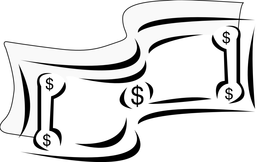 Money in hand clipart vector royalty free stock Money Black And White Clipart | Free download best Money Black And ... vector royalty free stock