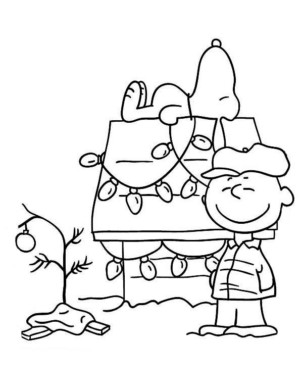 Free black and white charlie brown christmas clipart. Paintings search result at
