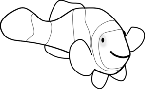 Free black and white clipart for clown fish graphic freeuse stock Free Clownfish Cliparts, Download Free Clip Art, Free Clip Art on ... graphic freeuse stock