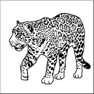 Free black and white clipart for leopard picture royalty free stock Free Black Leopard Cliparts, Download Free Clip Art, Free Clip Art ... picture royalty free stock