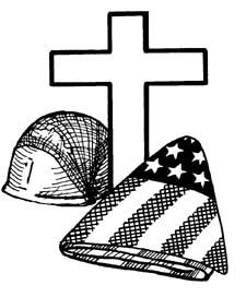 Free black and white clipart for memorial day sunday. Clip art myspace graphics
