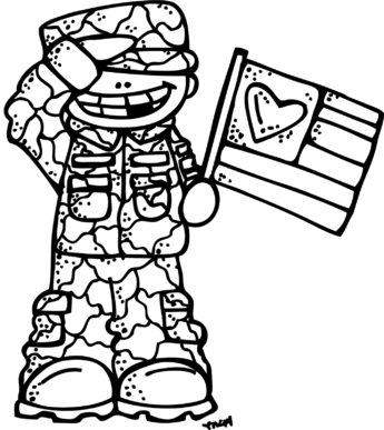Holiday clip art clipartix. Free black and white clipart for memorial day sunday