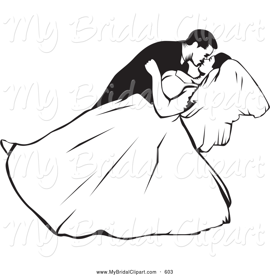 Free black and white clipart getting married. Wedding panda images