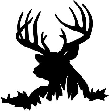 Hunting deer clipart