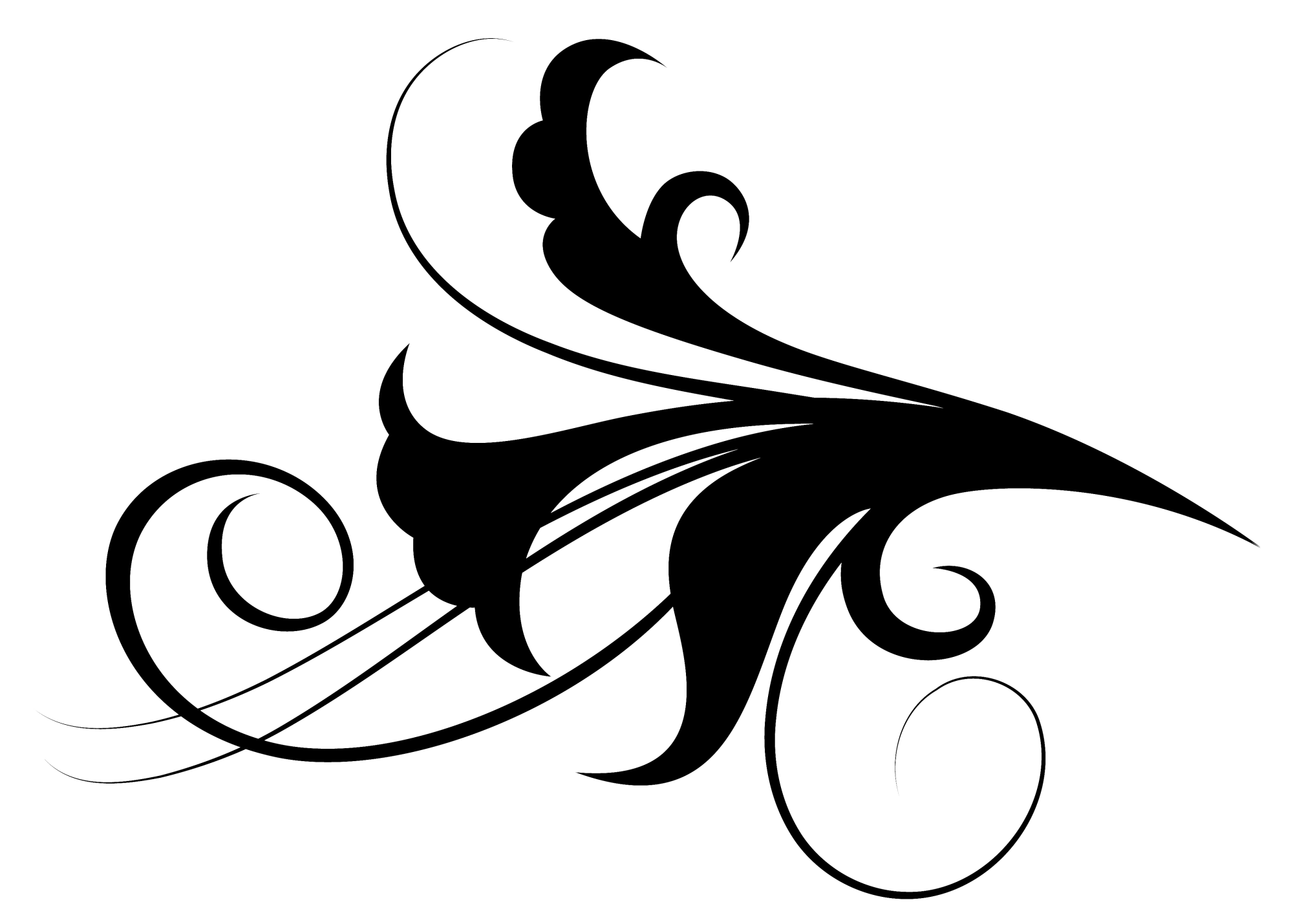 Free black and white clipart images filagree design. Graphic filigree png download