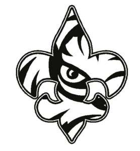 Free black and white clipart lsu tigers vector black and white stock Lsu Clipart & Look At Clip Art Images - ClipartLook vector black and white stock