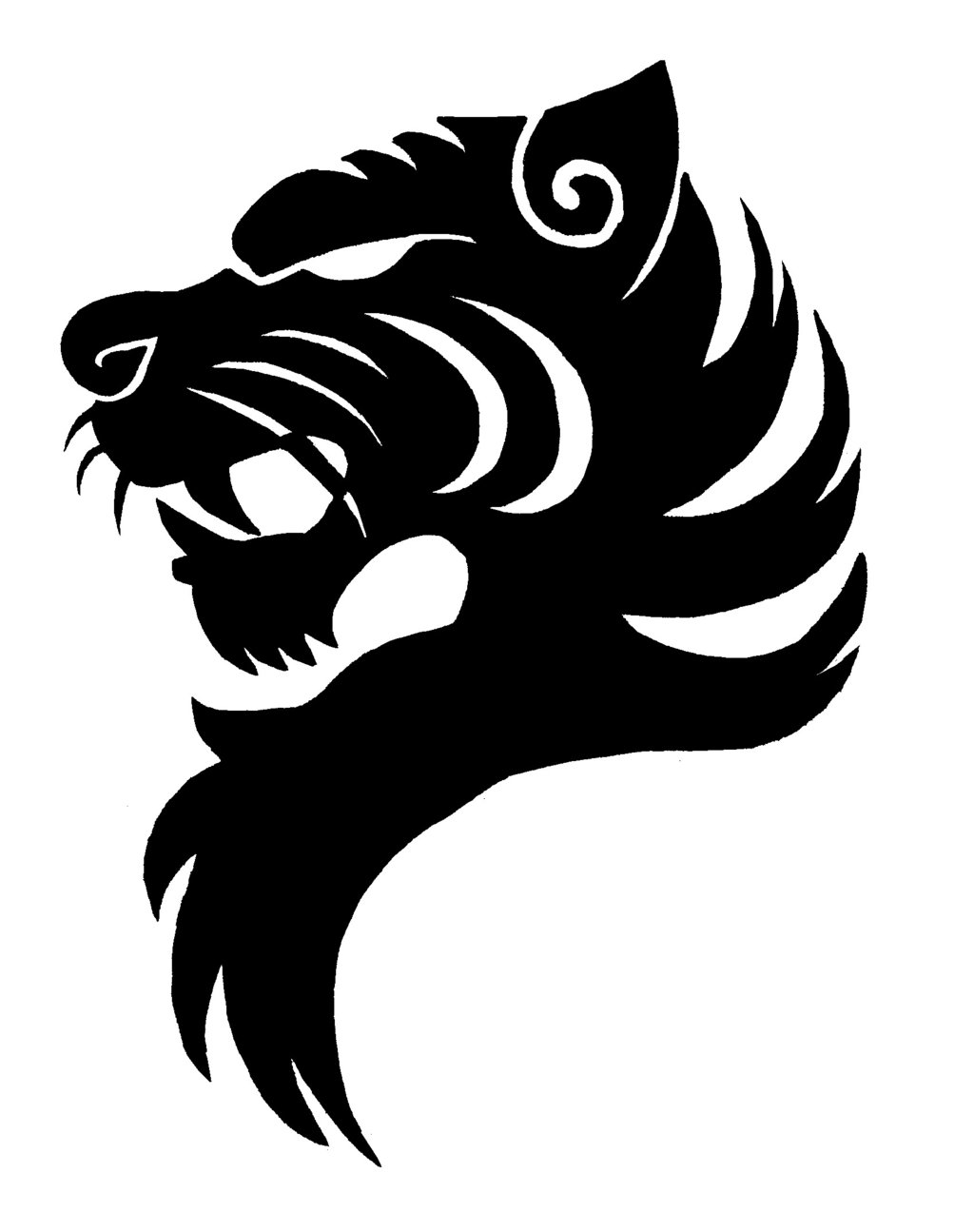 Free black and white clipart lsu tigers graphic free download Free Lsu Logo Black And White, Download Free Clip Art, Free Clip Art ... graphic free download