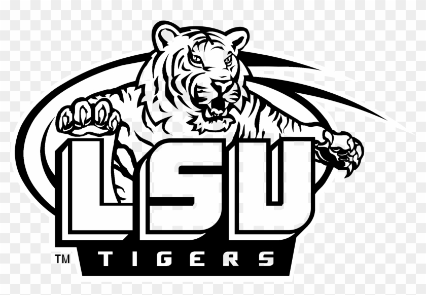 Free black and white clipart lsu tigers transparent library Lsu Png - Lsu Tigers, Transparent Png - 2400x2400(#861730) - PngFind transparent library