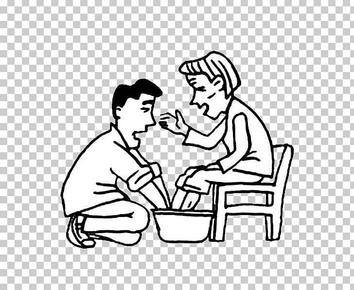 Free black and white clipart mother comforting child. Filial piety parent father