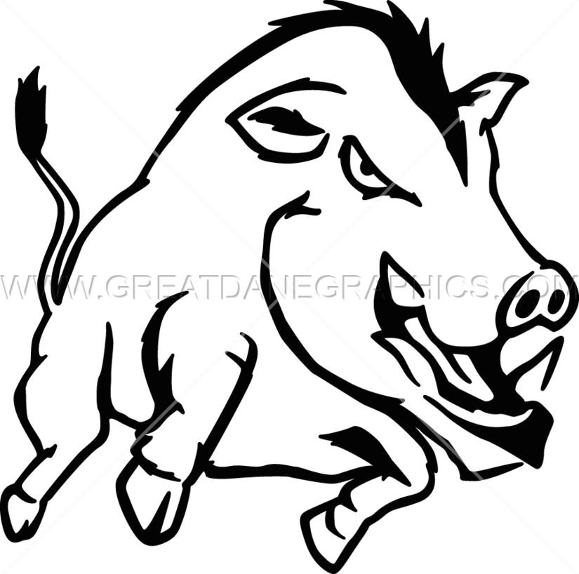 Free black and white clipart of wild boars clip art library stock Wild Boar Drawing | Free download best Wild Boar Drawing on ... clip art library stock