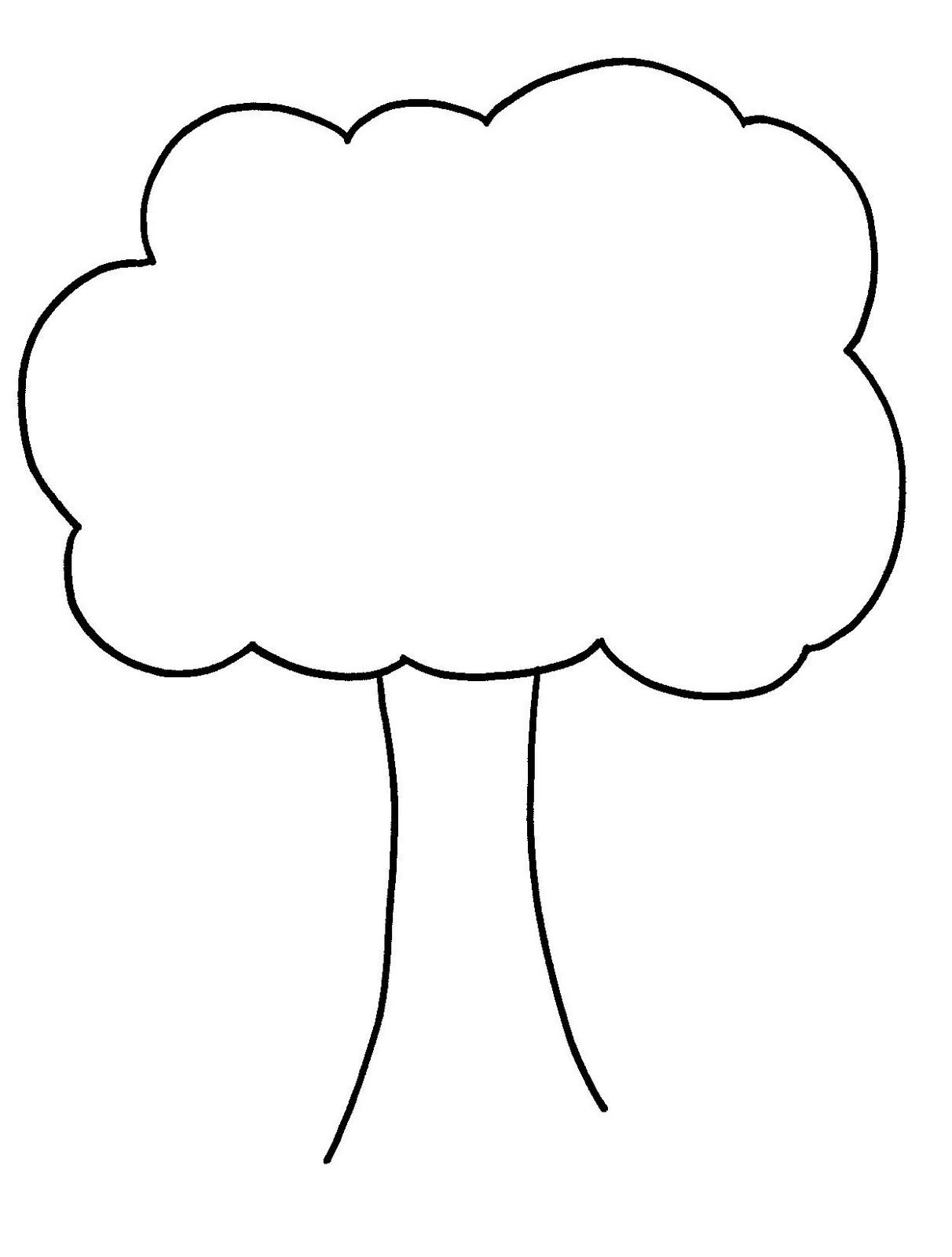 Free black and white clipart of young trees clip art freeuse Clip Art Tree Outline Clipart Panda Free Clipart Images | Hands On ... clip art freeuse