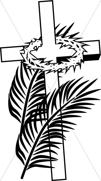 Free black and white clipart palm sunday clipart transparent library Palm Sunday Free Clipart | Free download best Palm Sunday Free ... clipart transparent library