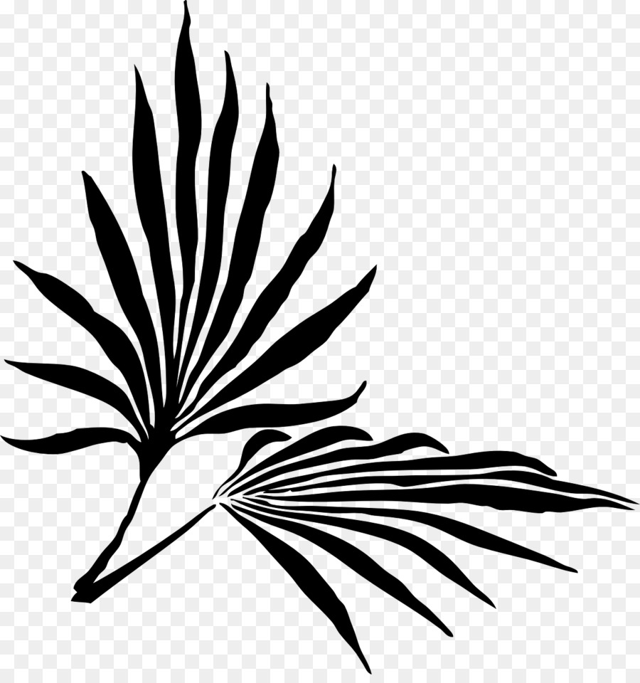 Free black and white clipart palm sunday image royalty free Black And White Flower png download - 1215*1280 - Free Transparent ... image royalty free