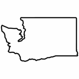 Free black and white clipart washington state illustration banner library Free Washington State Outline PNG Images & Cliparts - Pngtube banner library