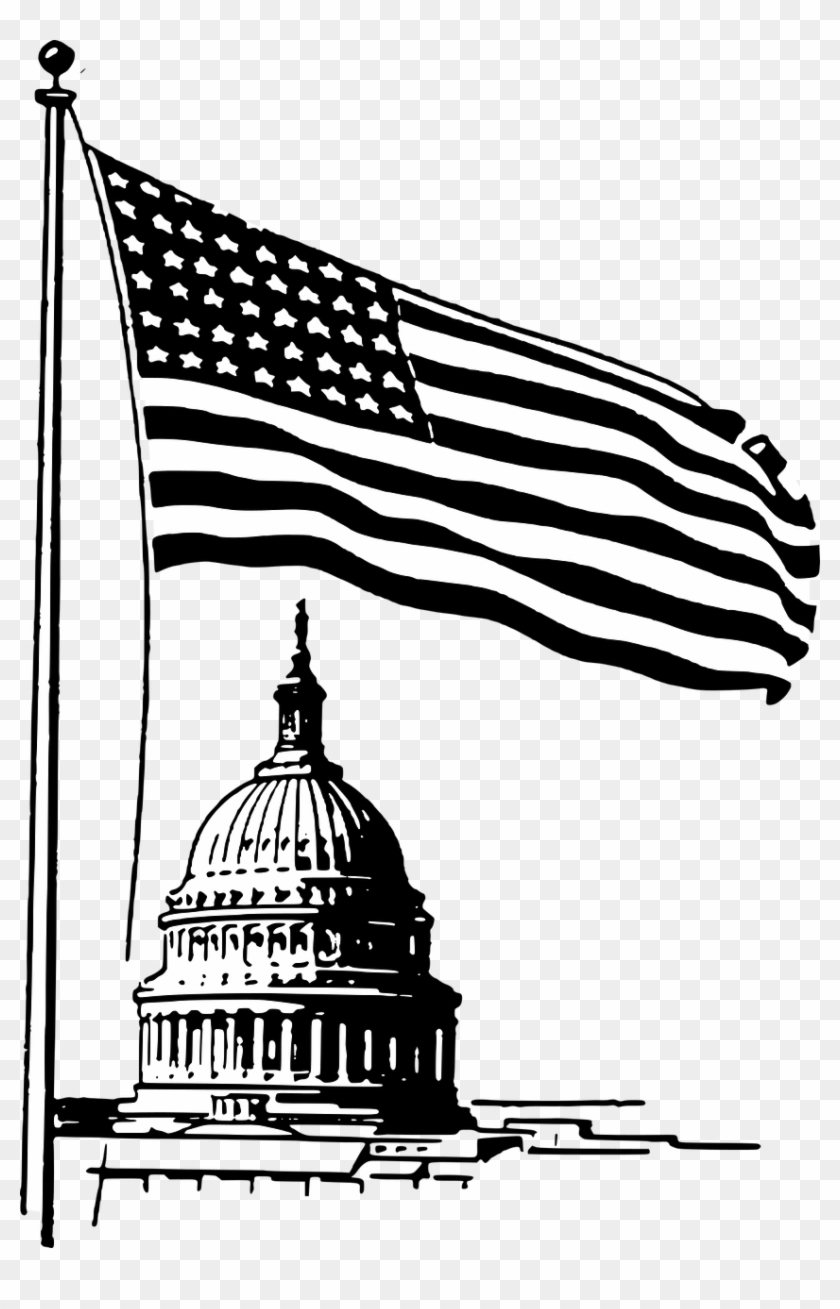 Washington dc clipart state image royalty free Capitol Washington Dc Flag - Capitol Building Free Clip Art, HD Png ... image royalty free
