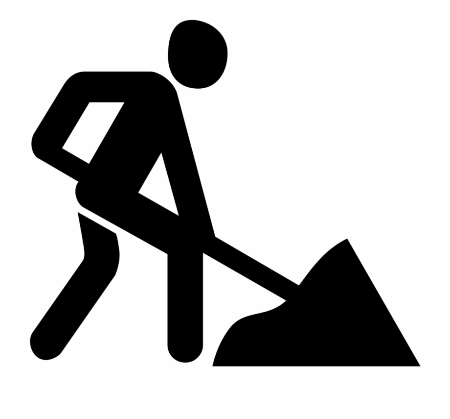 Hard work clipart black and white graphic library stock Hard Work Png - Work In Progress Icon White Free PNG Images ... graphic library stock