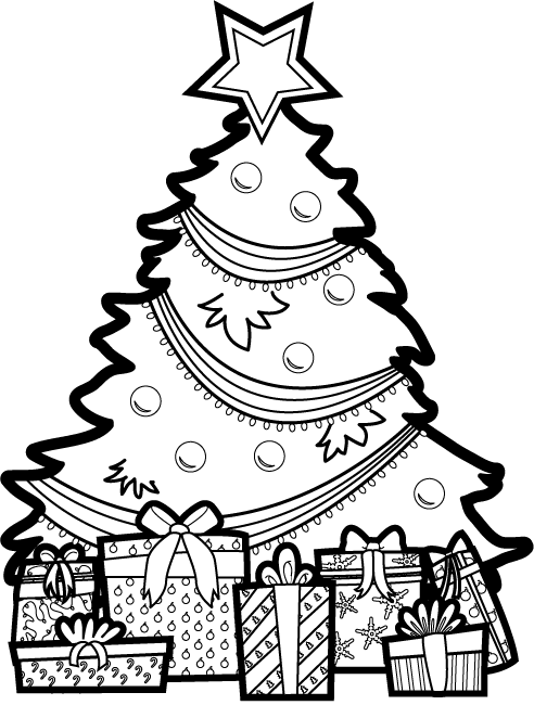 Free black and white clipart xmas vs christmas clip art Free Merry Christmas Clip Art Xmas Tree Graphics Borders Useful ... clip art