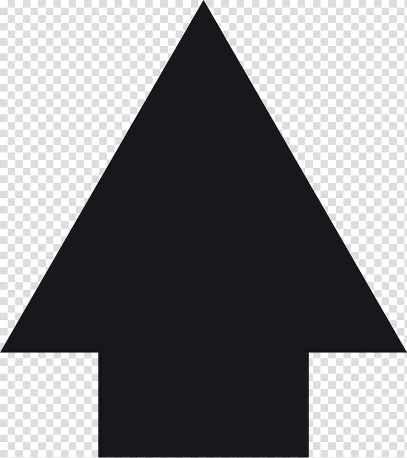 Pyramid up arrow transparent. Free black and white curved triangle clipart