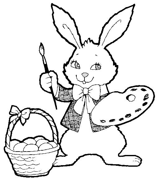 Free black and white easter bunny clipart jpg royalty free Free Black and White Easter Clipart - Public Domain Holiday/Easter ... jpg royalty free