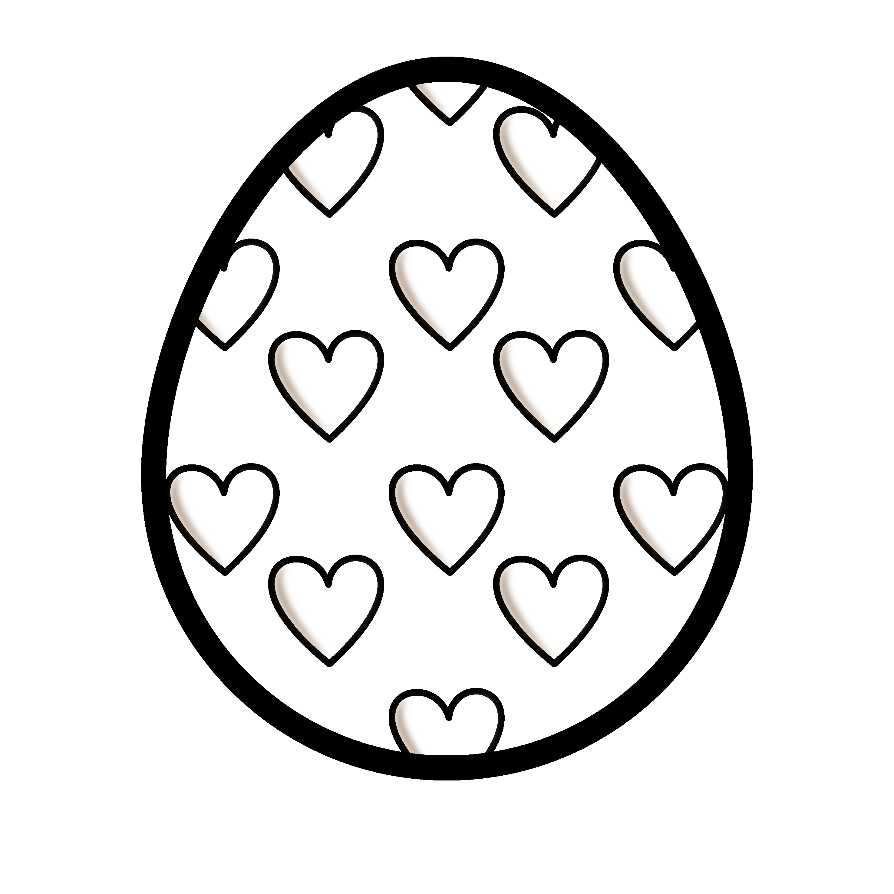 Free black and white easter egg clipart royalty free library Easter black and white images clipart images gallery for free ... royalty free library