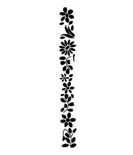 Free black and white floral clip art jpg free download Black And White Flower Border | Free Download Clip Art | Free Clip ... jpg free download