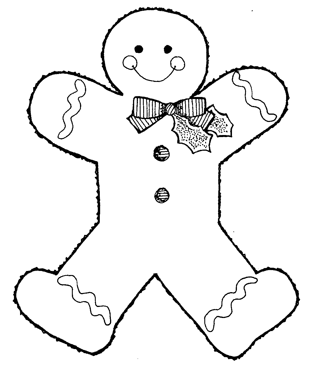 Free black and white gingerbread man clipart svg download Gingerbread man black and white clipart kid 2 - Cliparting.com svg download