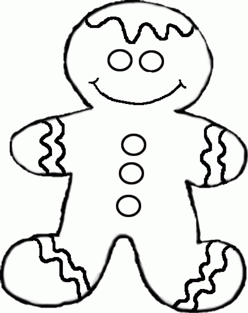Free black and white gingerbread man clipart vector transparent Gingerbread Man Drawing | Free download best Gingerbread Man Drawing ... vector transparent