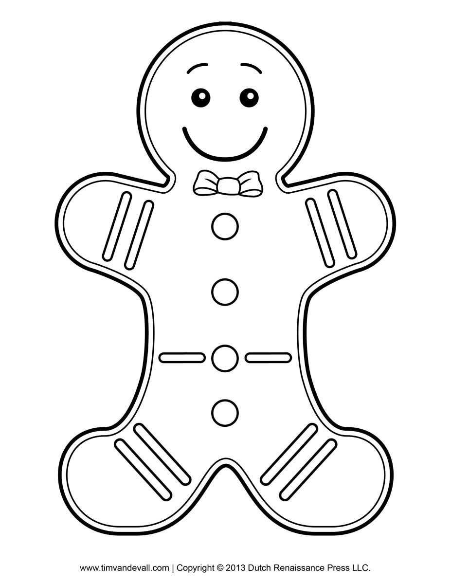 Free black and white gingerbread man clipart graphic library download Free printable gingerbread man clipart clipartfest - Cliparting.com graphic library download