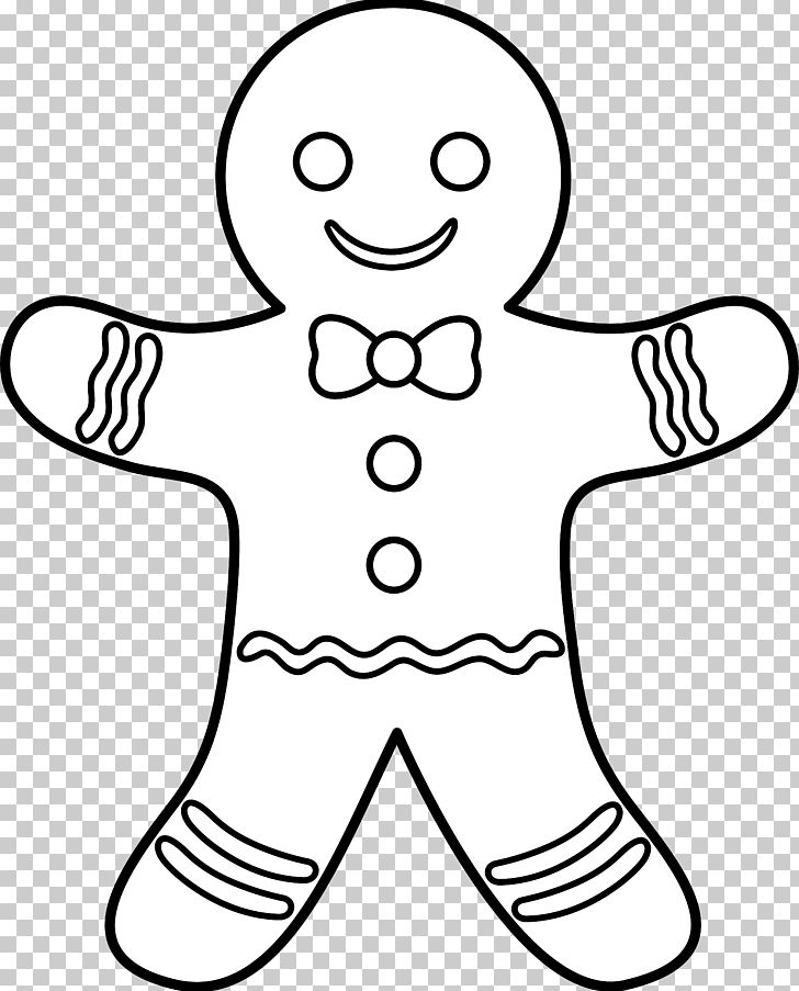 Free black and white gingerbread man clipart graphic freeuse library The Gingerbread Man Gingerbread House Coloring Book PNG, Clipart ... graphic freeuse library