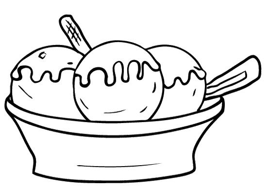 Ice cream sundae bowl clipart black and white banner black and white stock Ice cream black and white ice cream sundae bowl clipart black and ... banner black and white stock