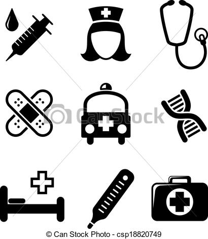 Free black and white medical clip art graphic royalty free library White medical Vector Clipart Royalty Free. 64,889 White medical ... graphic royalty free library