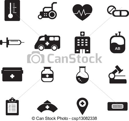 Free black and white medical clip art clipart stock Vectors of Medical Icon Black and White csp13082338 - Search Clip ... clipart stock