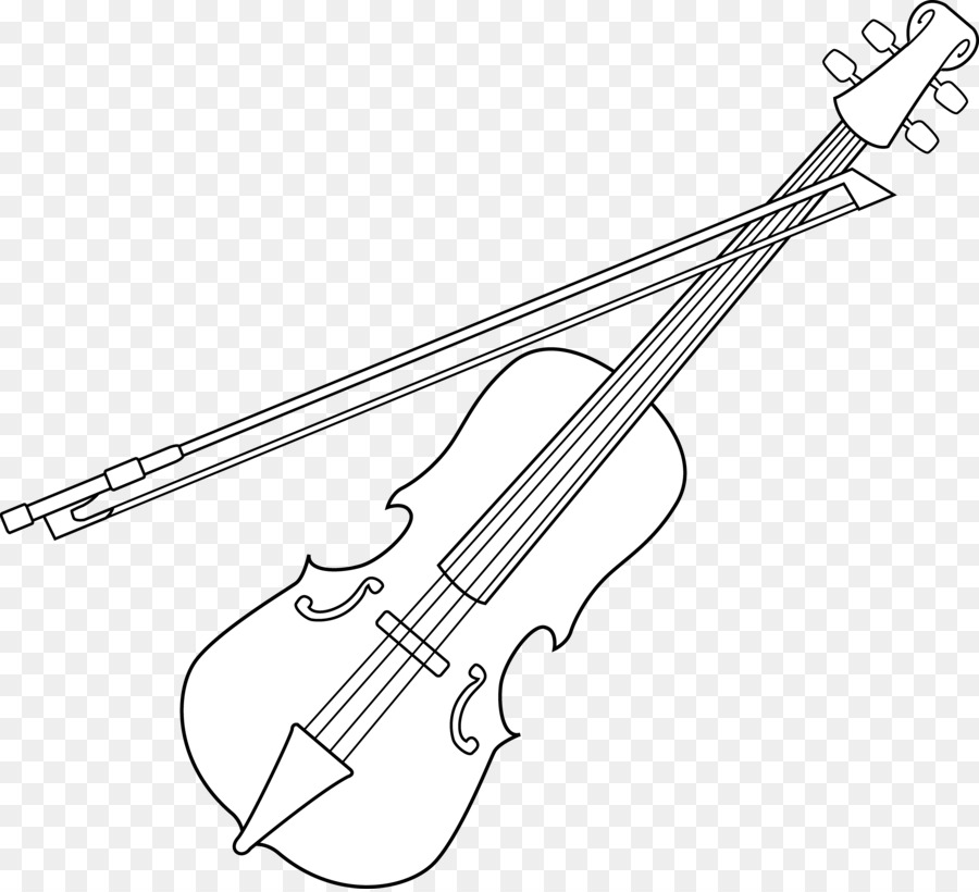 Free black and white musicians bow clipart png royalty free download Download Free png Violin Black and white Bow Line art Clip art ... png royalty free download