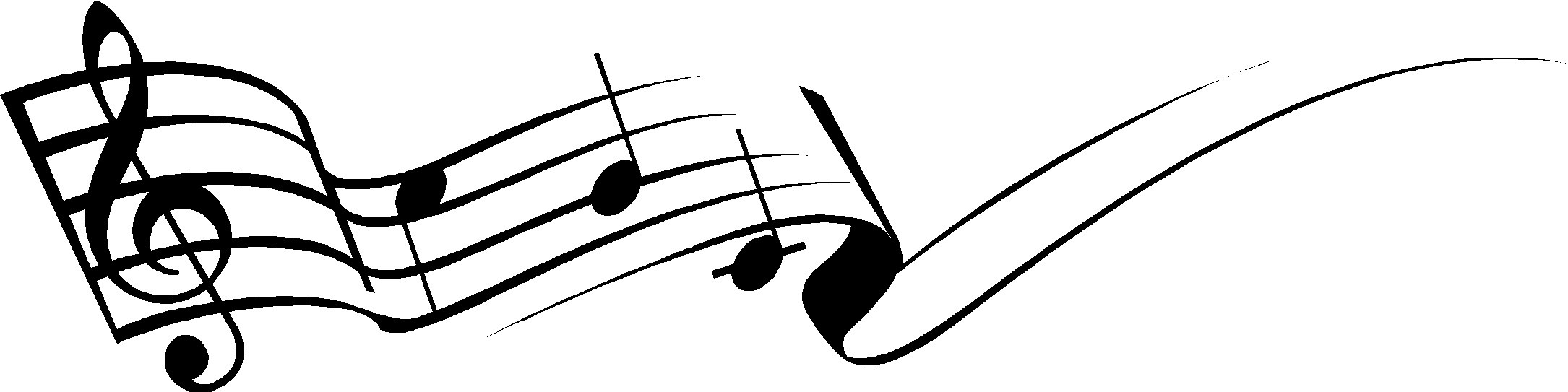 Free black and white musicians bow clipart banner library White Music Notes | Free download best White Music Notes on ... banner library