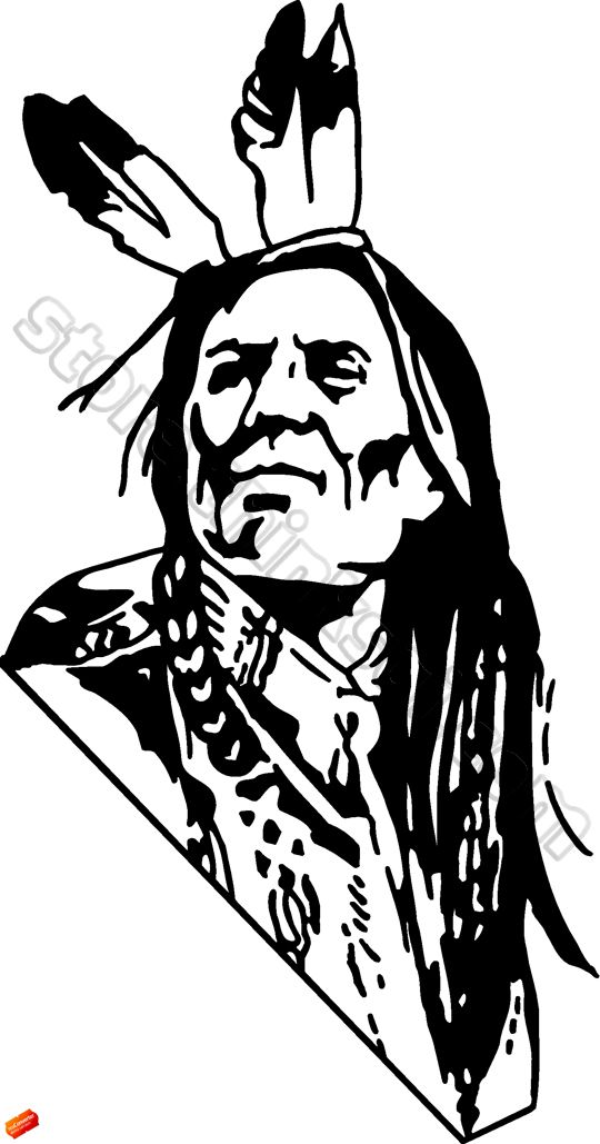 Indian images download best. Free black and white native american clipart