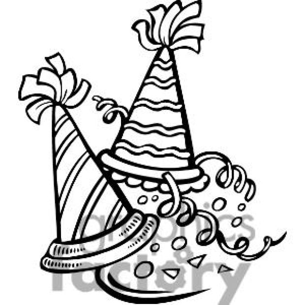 Free black and white news eve clipart. New years download best