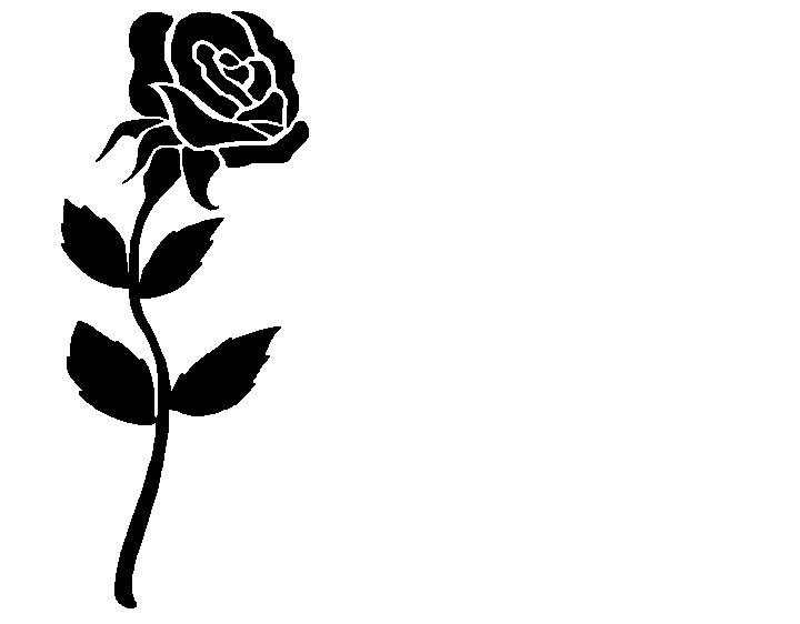 R9ose clipart jpg free download Rose black and white rose clip art free clipart clipartpost ... jpg free download
