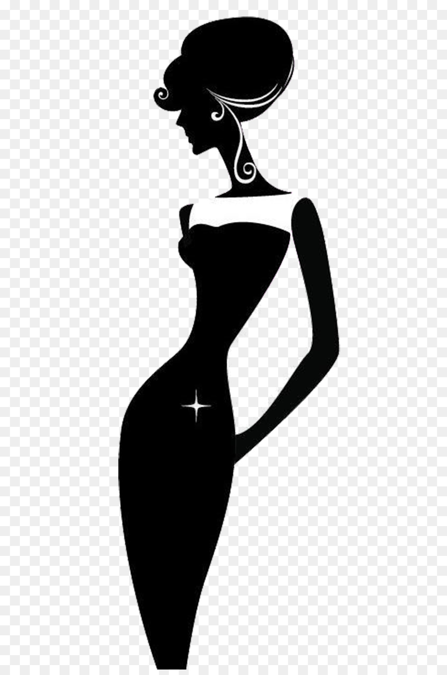 Free black and white silhouette clipart clip art freeuse Black And White Silhouette Woman at GetDrawings.com | Free for ... clip art freeuse