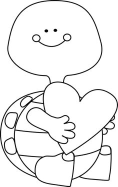Free black and white valentines day clipart.  clipartlook