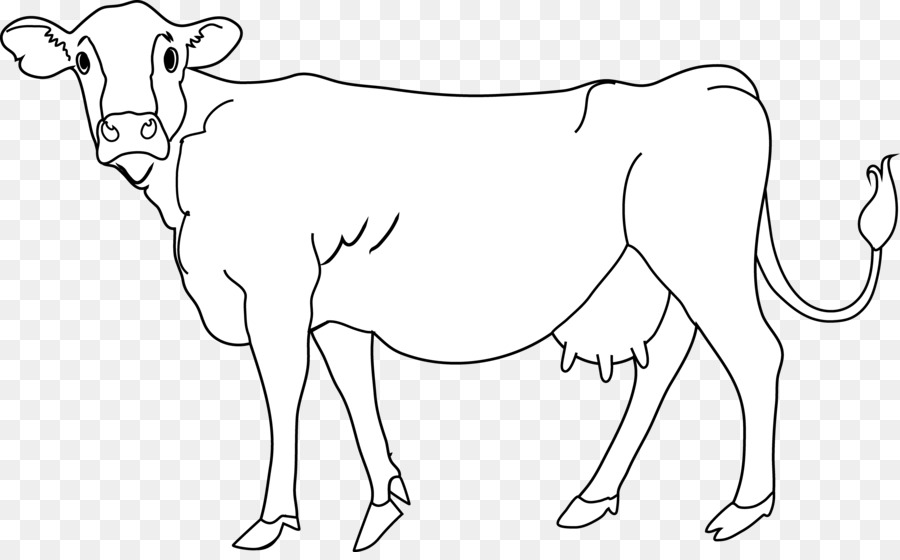 Free black cow clipart black and white vector download Black Line Background png download - 7657*4694 - Free Transparent ... vector download