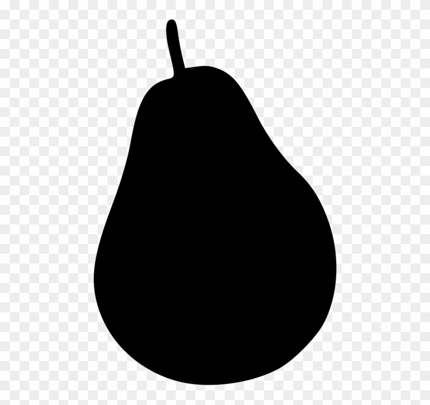 Free black & white clipart of a pear core. Worcester watermelon fruit cucumber