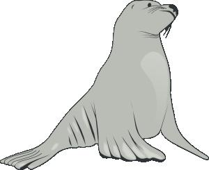 Sealion clipart image freeuse download Sea Lion Clip Art at Clker.com - vector clip art online, royalty ... image freeuse download