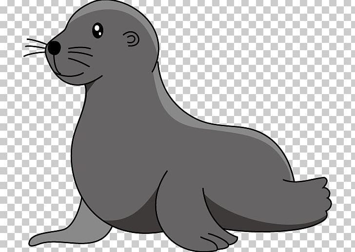 Free black & white clipart sea liom. Baby lion elephant seal