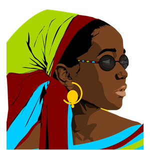 Free black woman clipart. Beautiful cliparts of